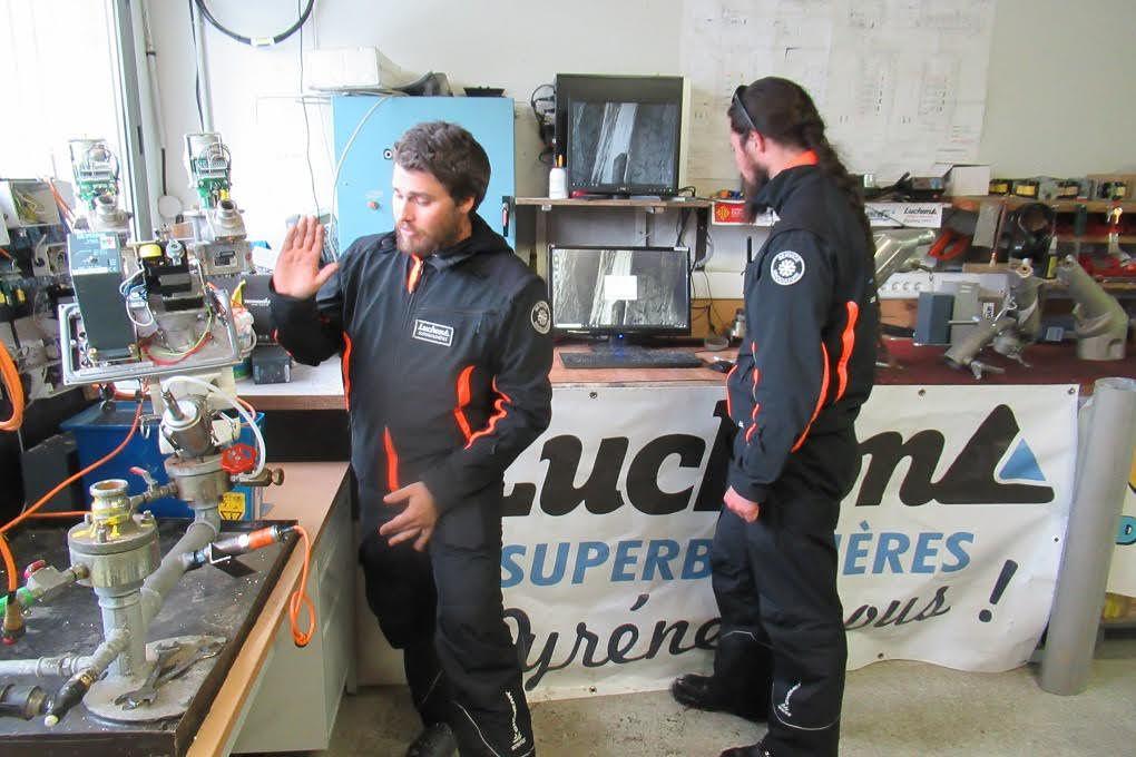 Luchon-Superbagnères : là où se fabrique... la neige