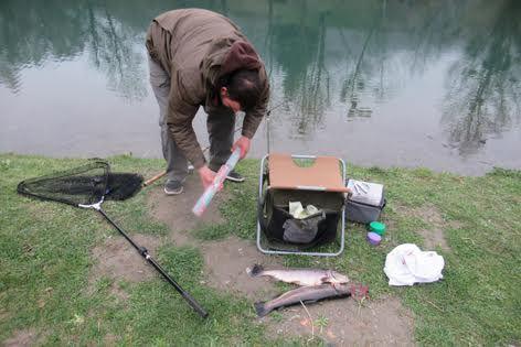 Au lac de Badech, c'était... ouverture de la pêche