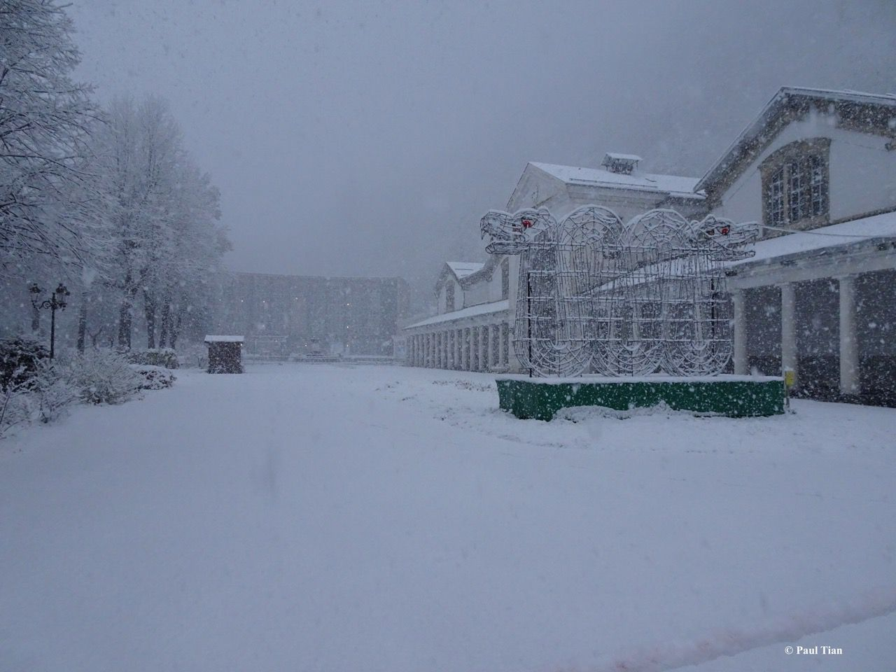 Luchon : tombe la neige !
