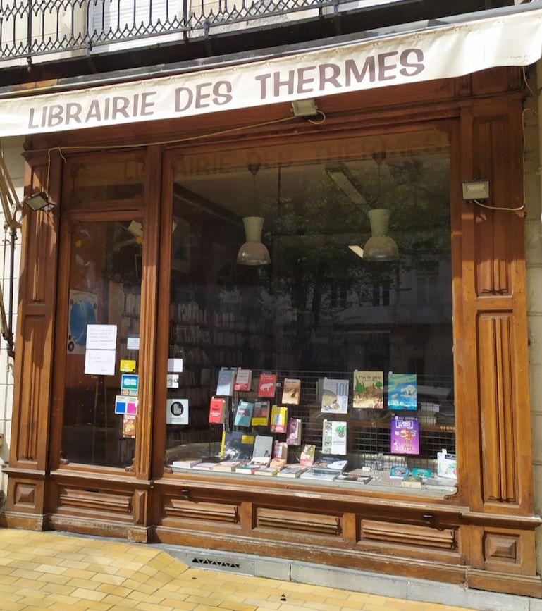 """Déconfinement : la """"Librairie des Thermes"""" rouvre ses portes lundi 11 mai"""