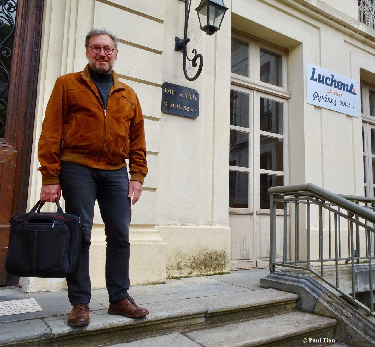 Luchon : samedi 23 mai, Eric Azémar nouveau maire de Luchon