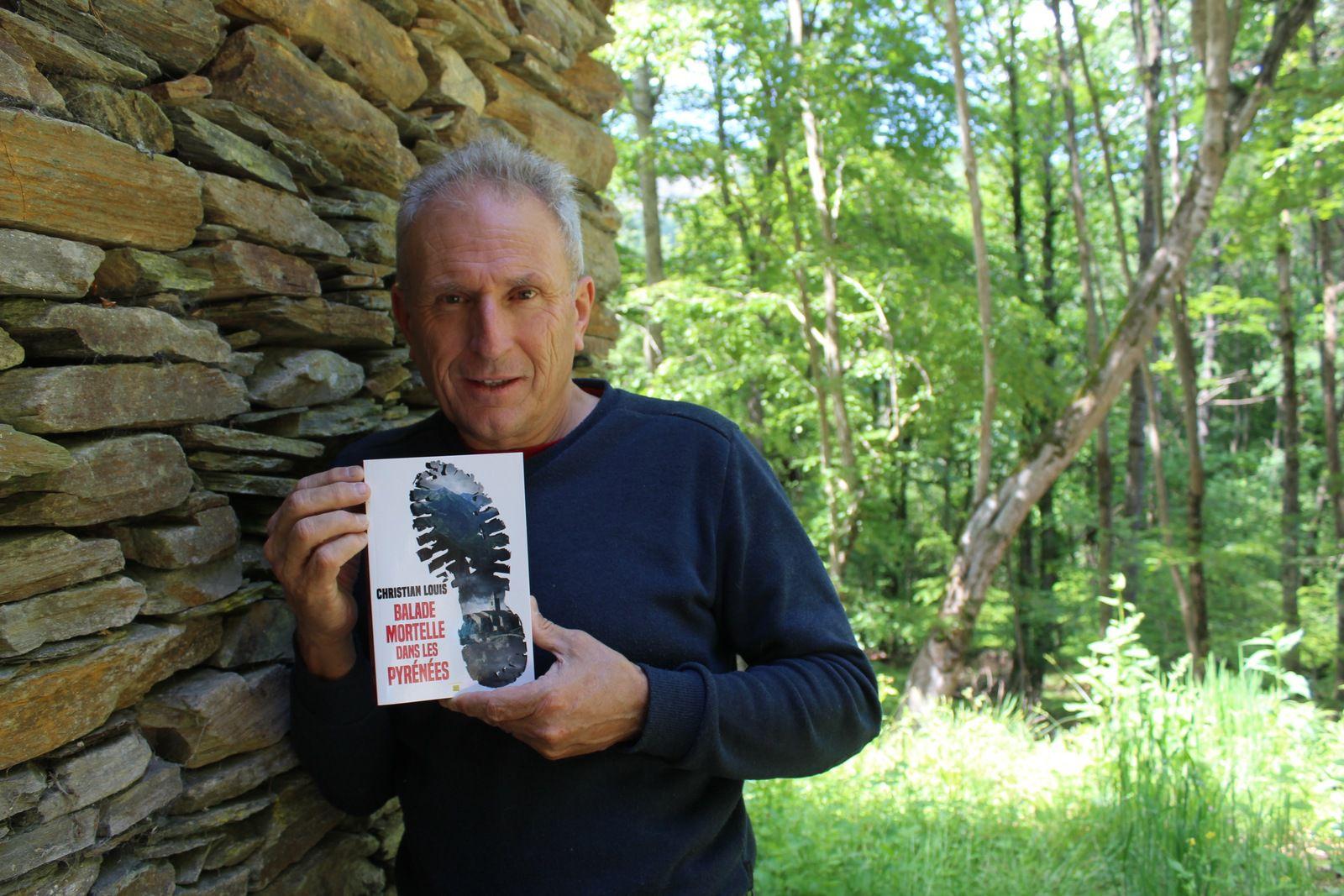 Christian Louis en dédicace à Gourdan-Polignan : entretien avec l'auteur Commingeois