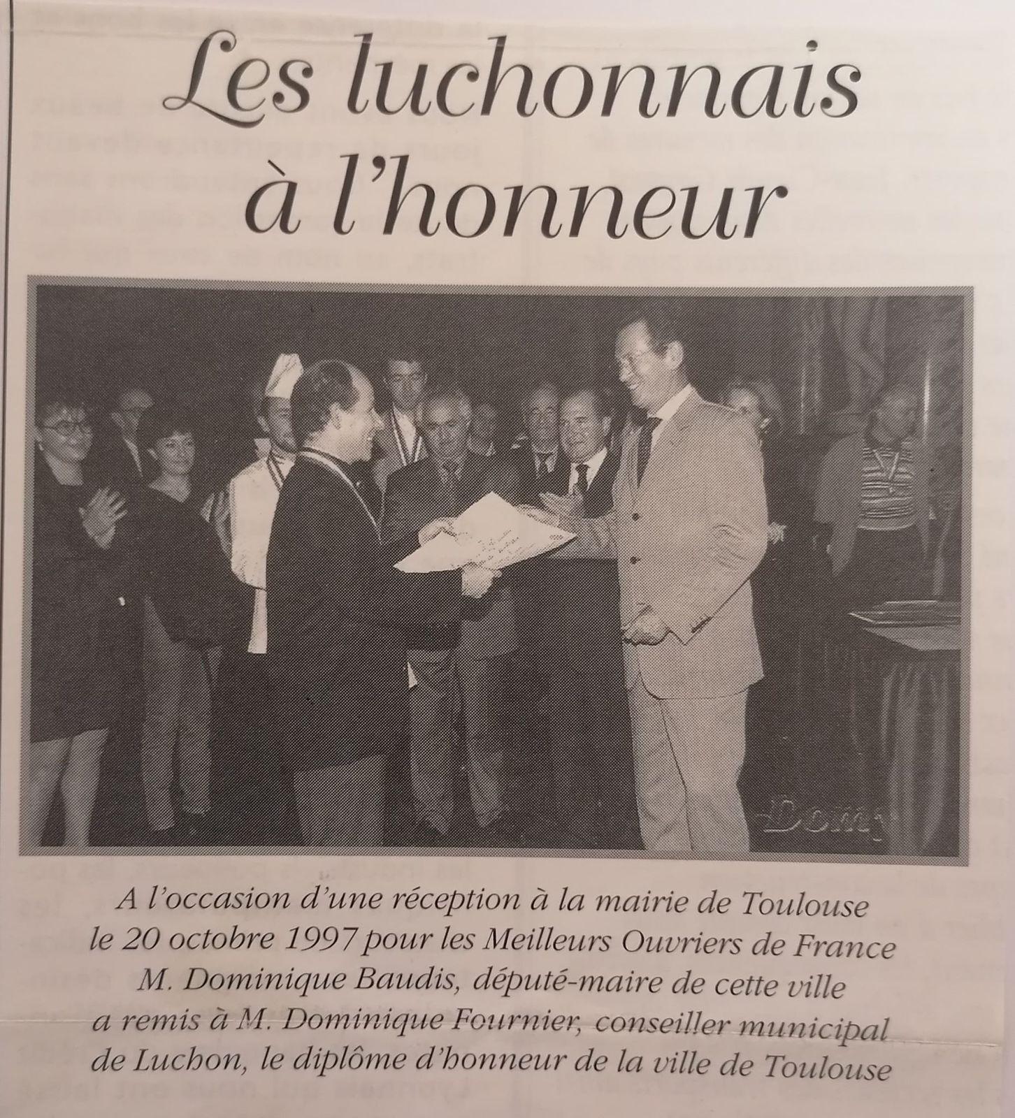 """Luchon : 40 ans de carrière, pour Dominique Fournier, photographe """"hors du commun"""""""