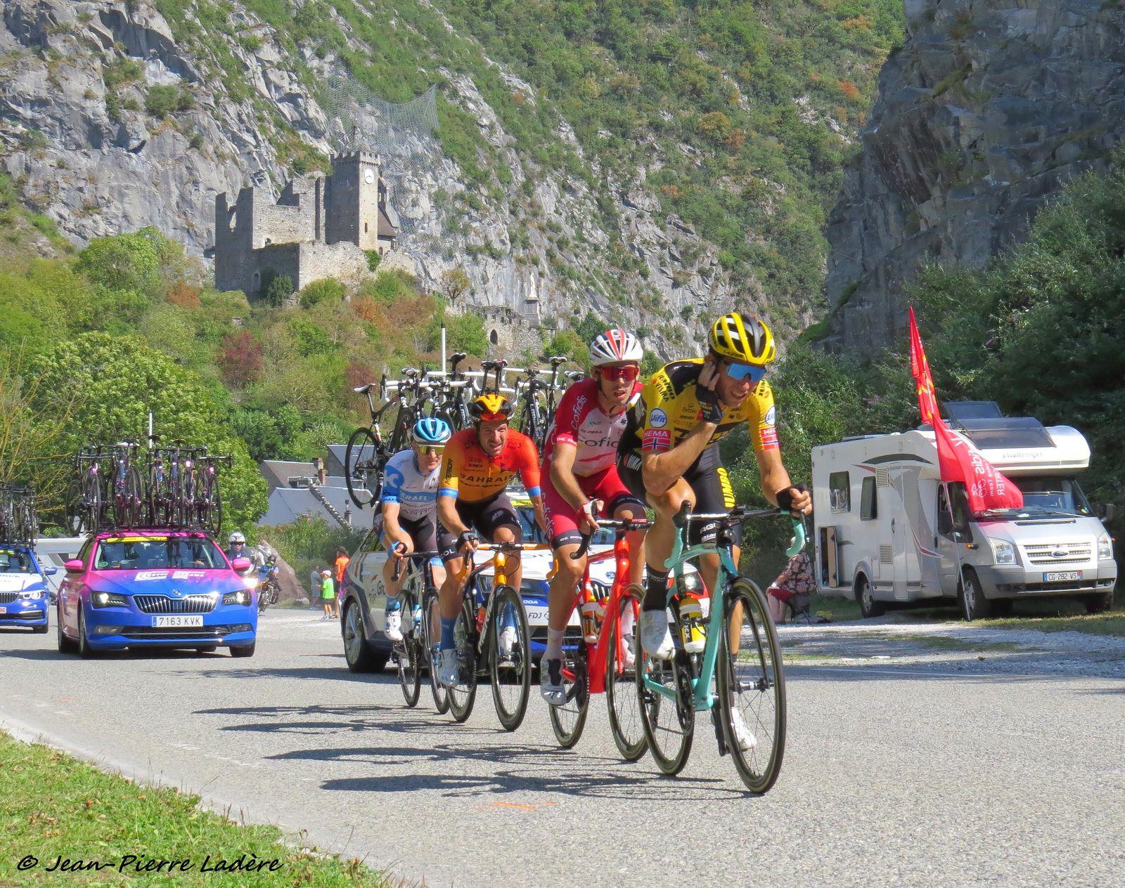 Tour de France 2020 : quand les coureurs passent à Saint-Béat...