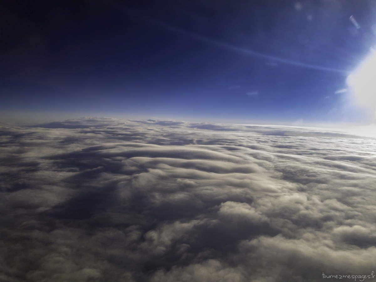 Photo3 prise depuis le hublot de l'avion.