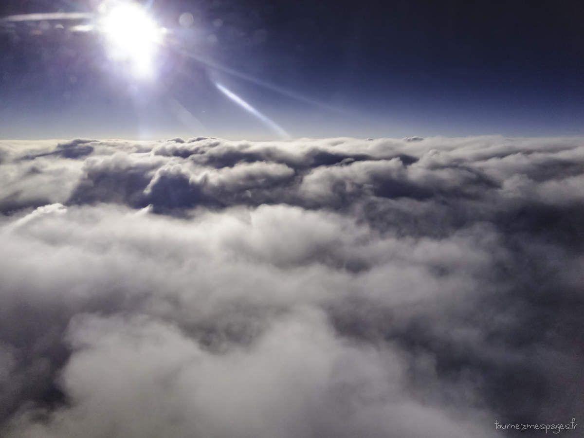 Photo2 prise depuis le hublot de l'avion.