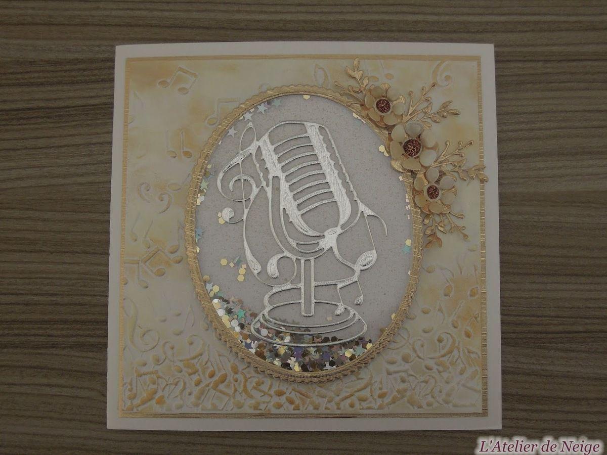 452 - Carte Musique