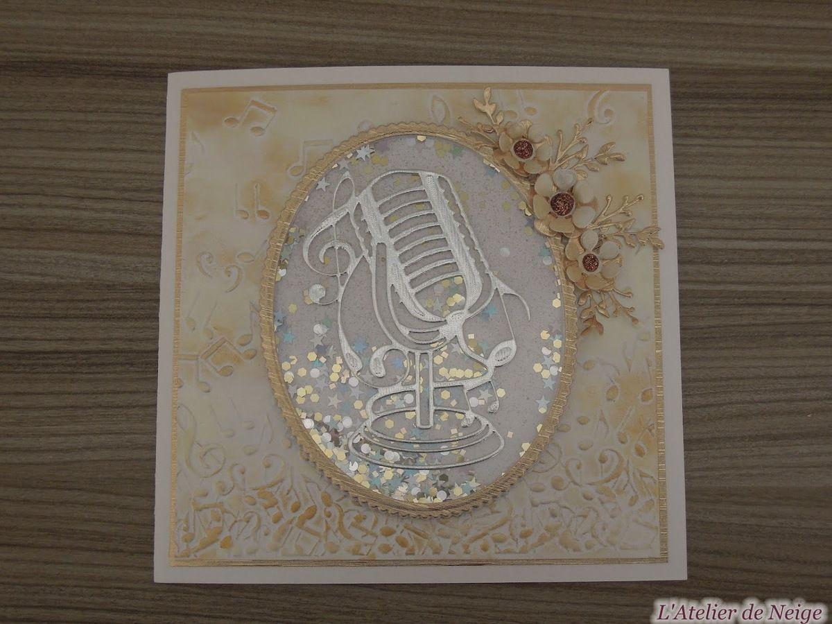 451 - Carte Musique