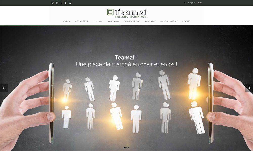 Team2i permet aussi aux freelances cherchant une mission d'en trouver une : pour cela, nous diffusons votre CV aux 12000 SSII - ESN (entreprises de service du numérique) que nous connaissons et qui acceptent de recevoir nos offres pour certaines depuis 1998.