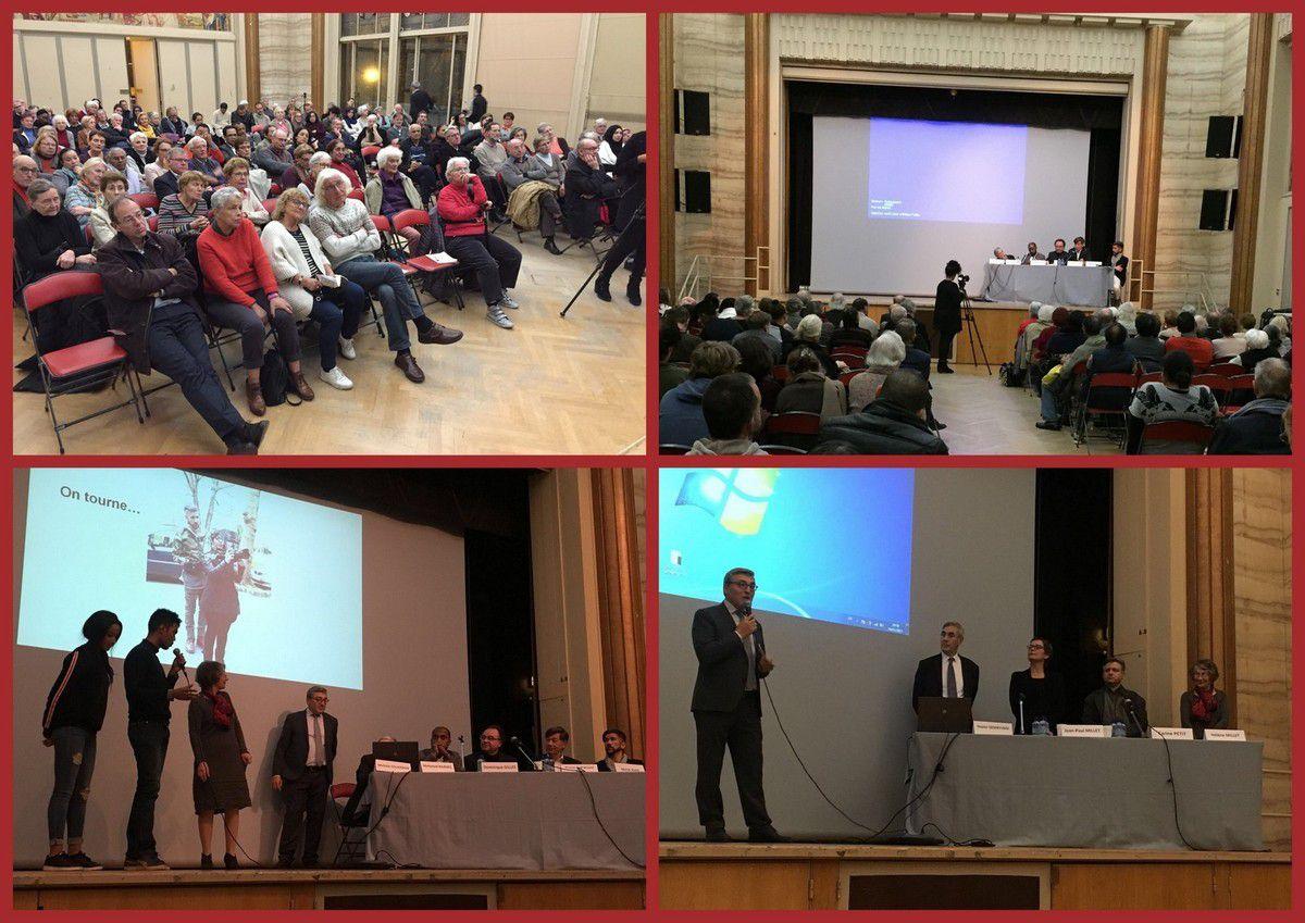 SERIC PARIS : 14 novembre 2017 - Soirée ciné-débat organisée par le GAIC et le CEPIJE 14 (Centre Paroissial d'Initiatives JEunes du 14ème)