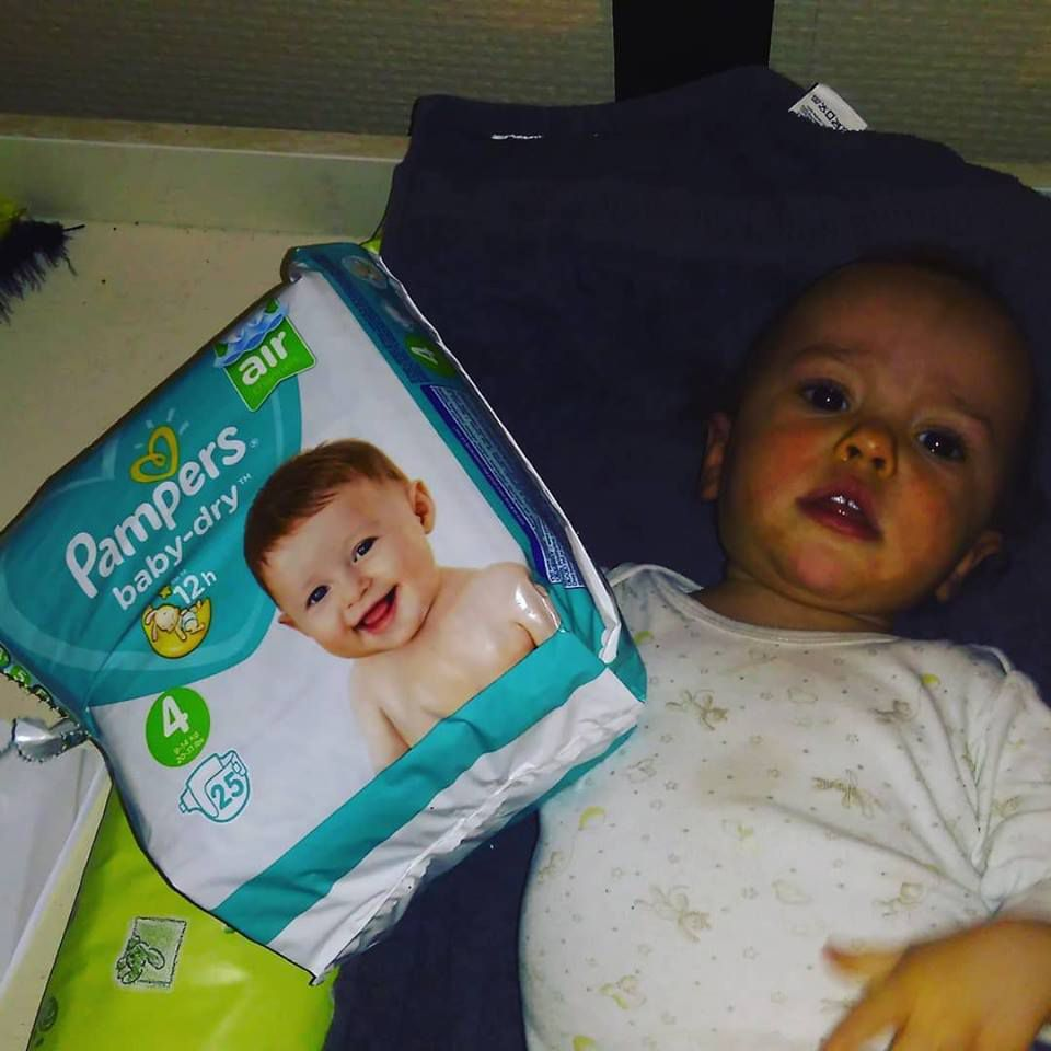 Pampers Baby Dry Canaux d'Air