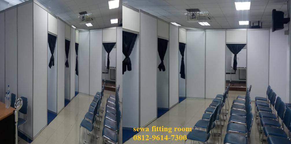 Jual Sewa Fitting Room, Fitting Room Pameran, Jual Sewa Partisi R8