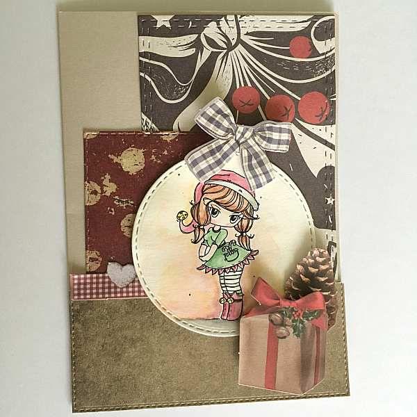 Carte de Noël - bugaboo stamps