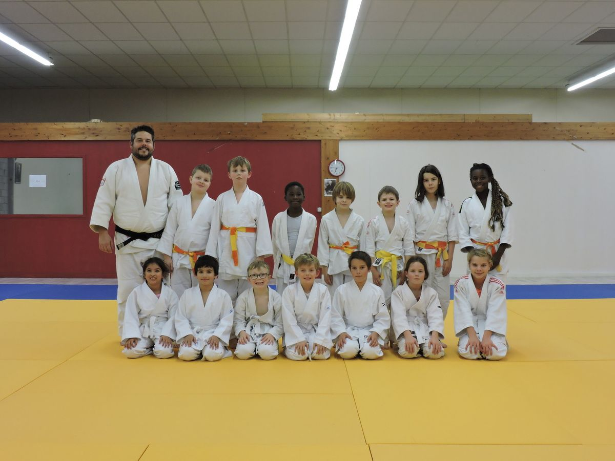 Groupe 8-9-10-11 ans.