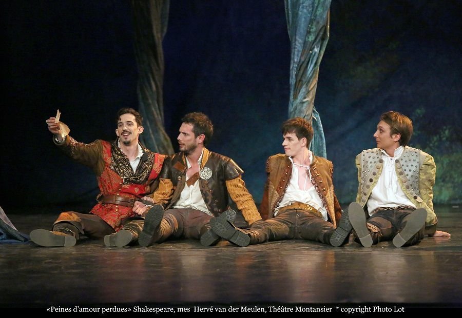 Peines d'amour perdues   William Shakespeare   Mise en scène Hervé Van Der Meulen