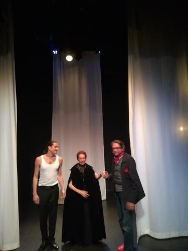 ©DR  Stephane Cottin,Bérengére Dautun,  et Claude Alain Planchon