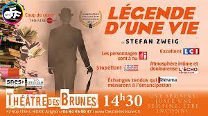 Légende d'une vie    De  Stefan Zweig  mise en scène de Caroline Rainette.