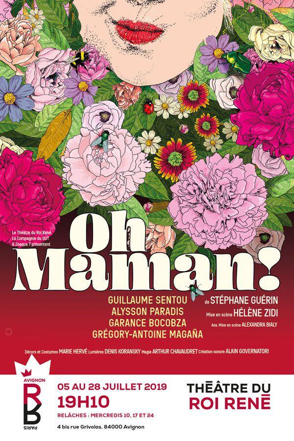 Oh  Maman ! de Stéphane Guerin  Mise en scène Hélène Zidi