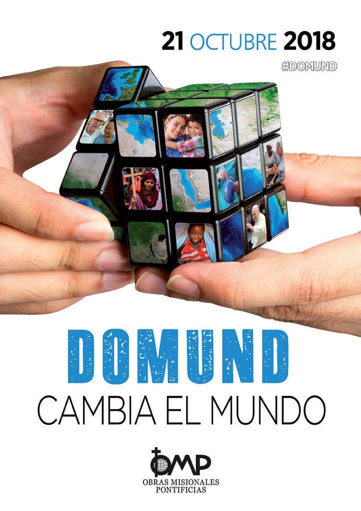 Domund 2018. CAMBIA EL MUNDO