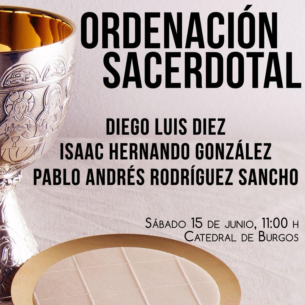 Órdenes Sagradas el próximo sábado en la Catedral