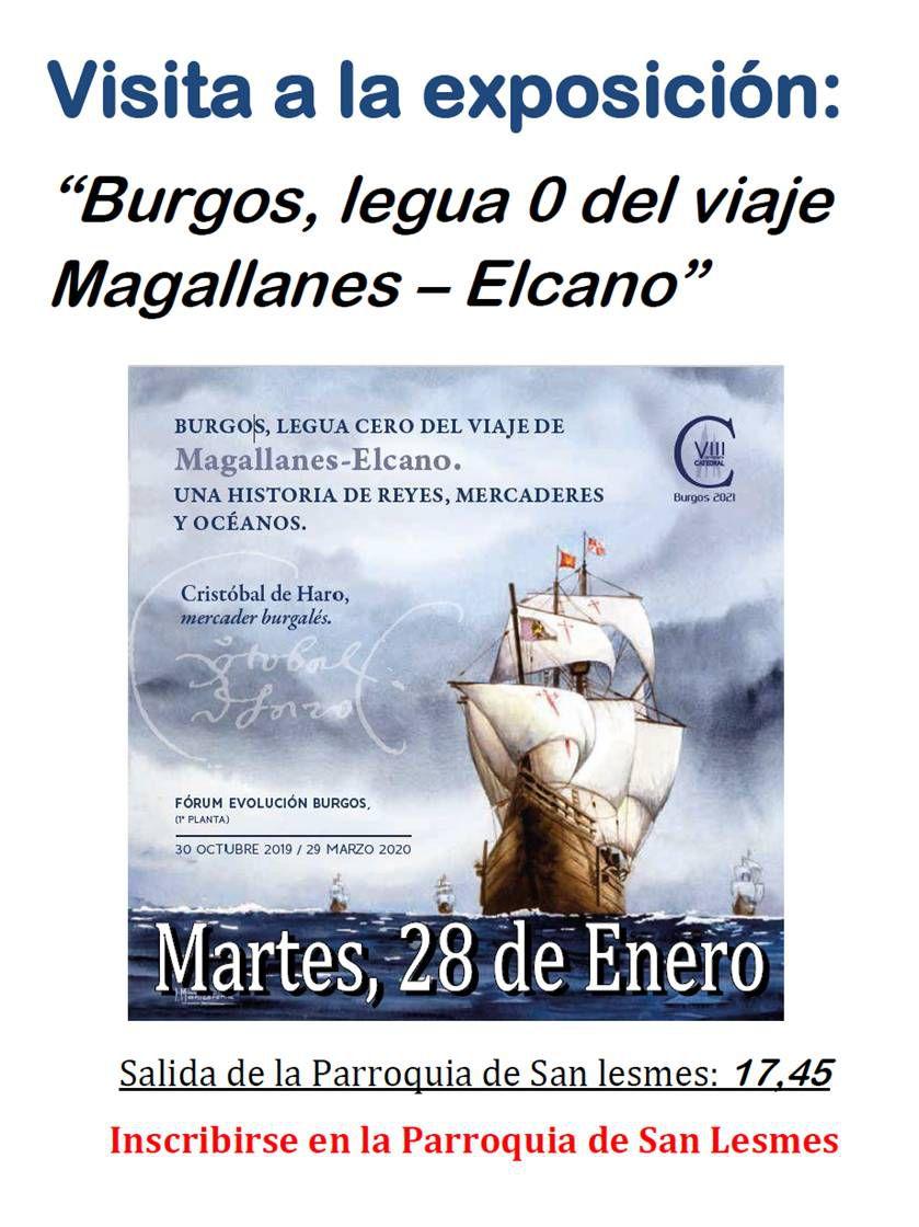 Visita a la exposición: Burgos, legua 0 del viajes Magallanes - Elcano