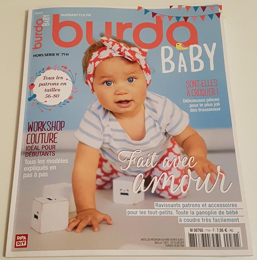 Présentation du Hors-Série Burda Baby N°71H
