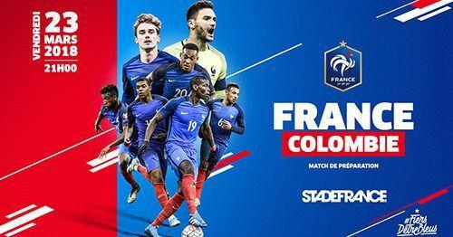 International - France vs Colombie : bien débuter la préparation... (Vendredi, 21h00)