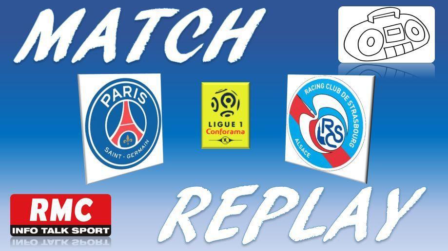 La Chaine - Match replay de PSG vs Strasbourg