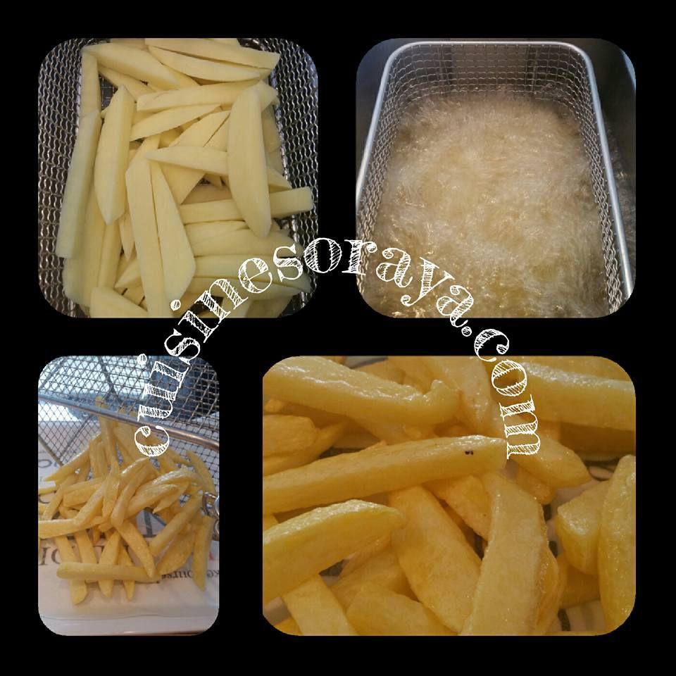 La cuisson des frites - Faites des frites !
