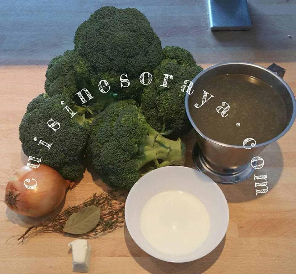 Soupe de brocolis.