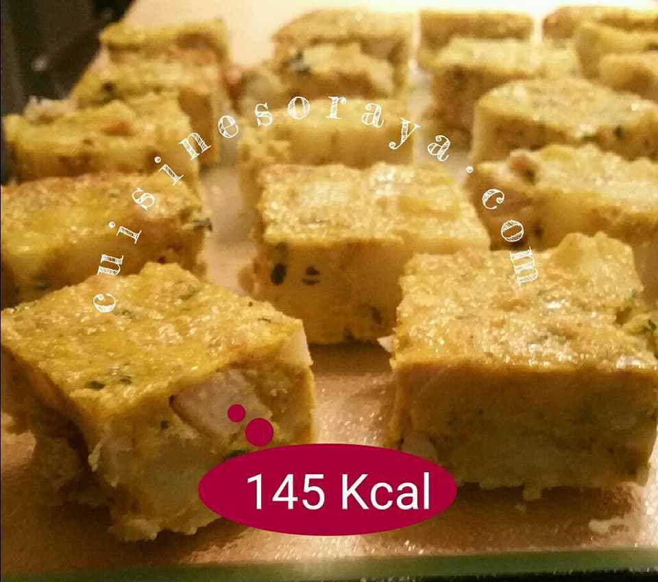 Quiche sans pâte aux poulet / Tagine Tunisien aux poulet