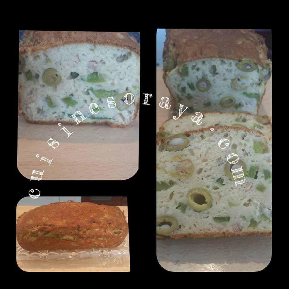 Cake au thon et aux olives