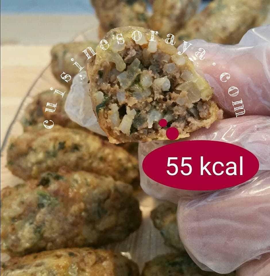 55 kcal pour 1 kofta de 25g