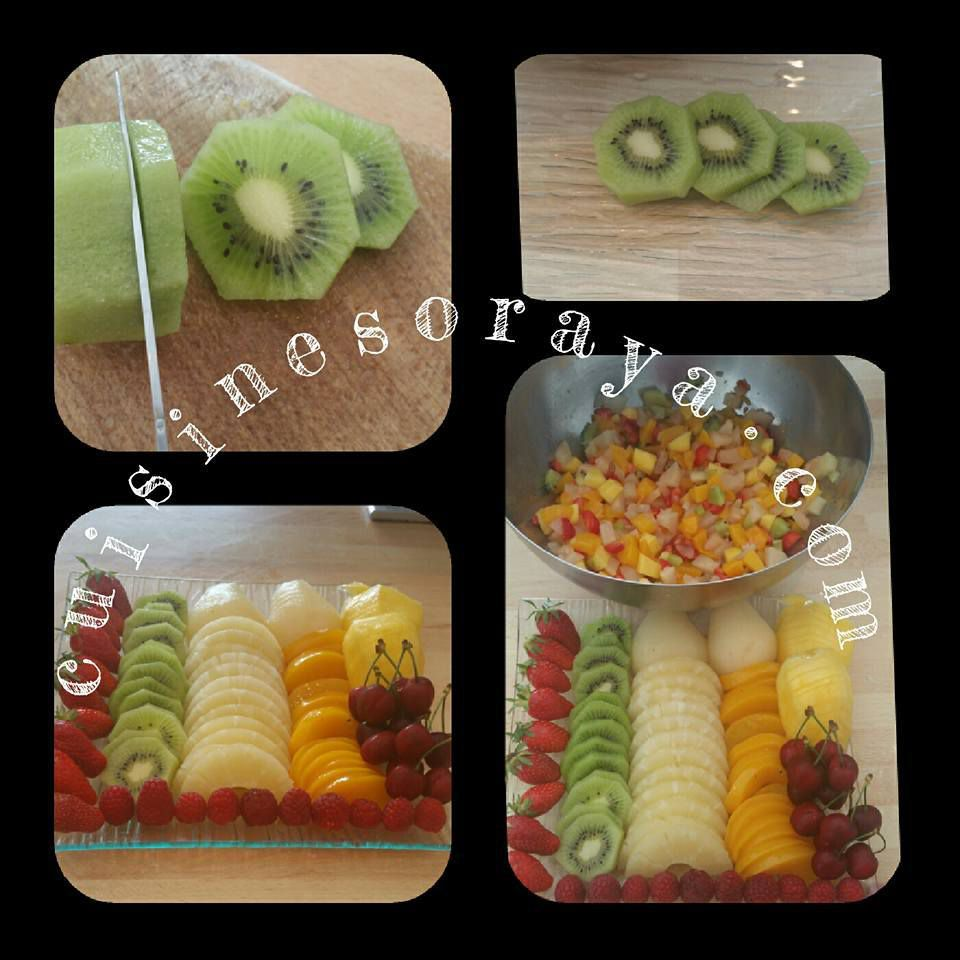 Le gâteau aux fruits - Tutti Frutti