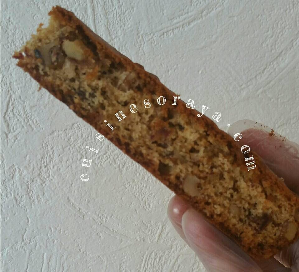 Moelleux au dattes et aux noix
