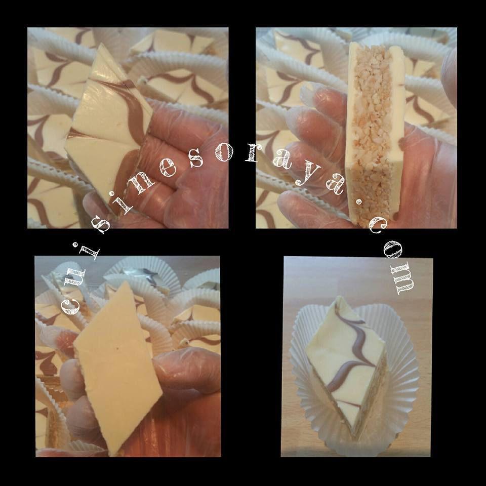 Zelliges aux cacahuètes - Gourmandises aux cacahuètes et chocolat