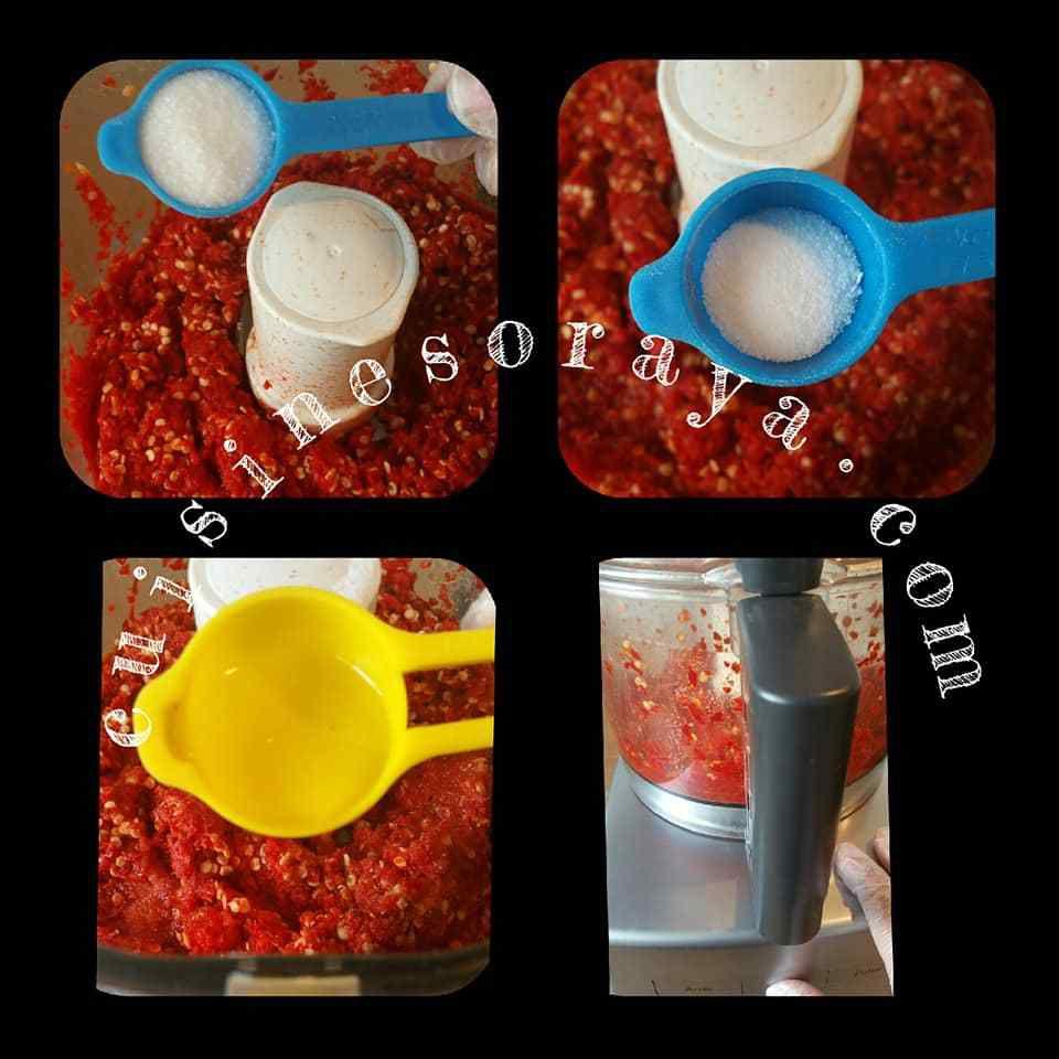 Purée de piments - Pili Pili
