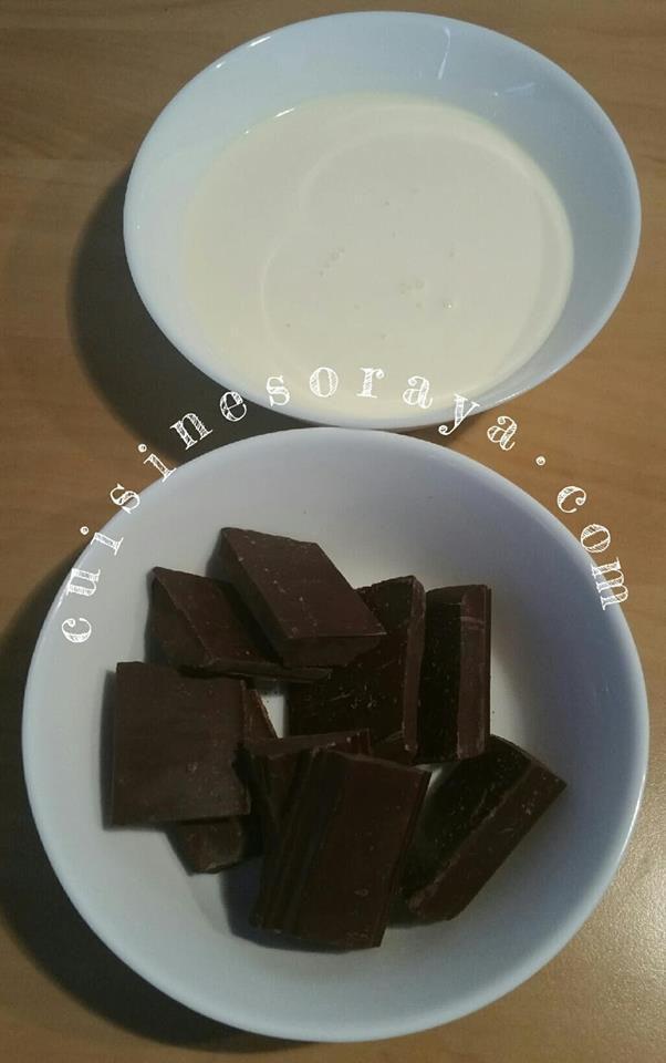 Roulé chocolat mousse de lait