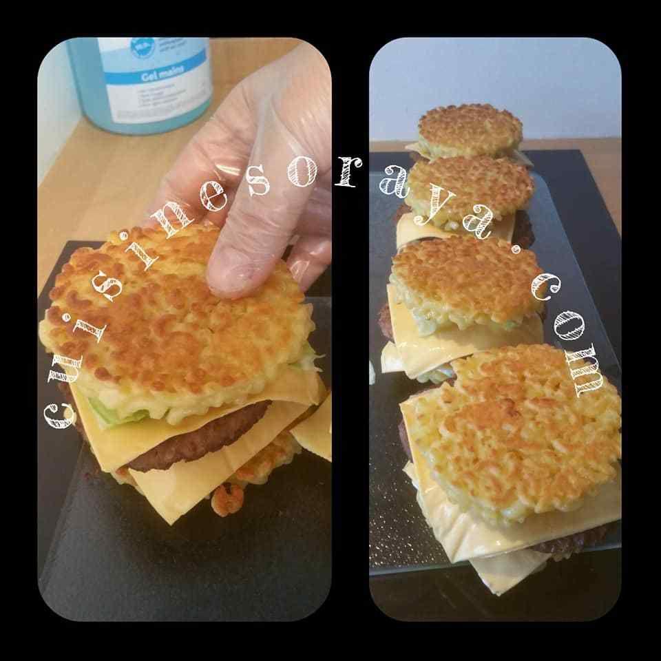 Hamburger pâtes