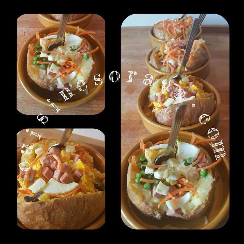 Pommes de terre farcies - Kumpir