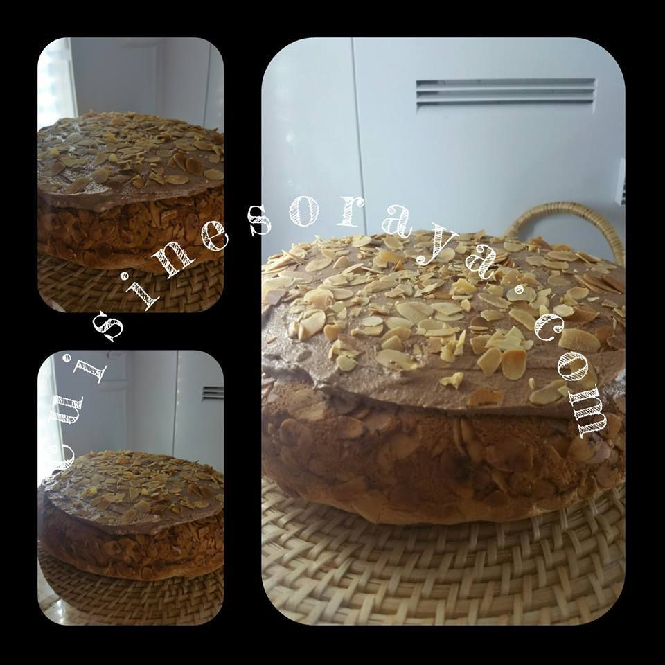 Gâteau Nid sans beurre
