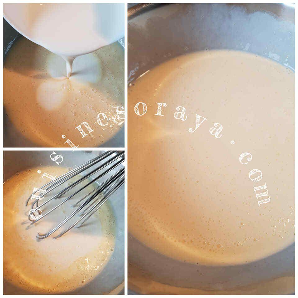 Moelleux au lait concentré sucré