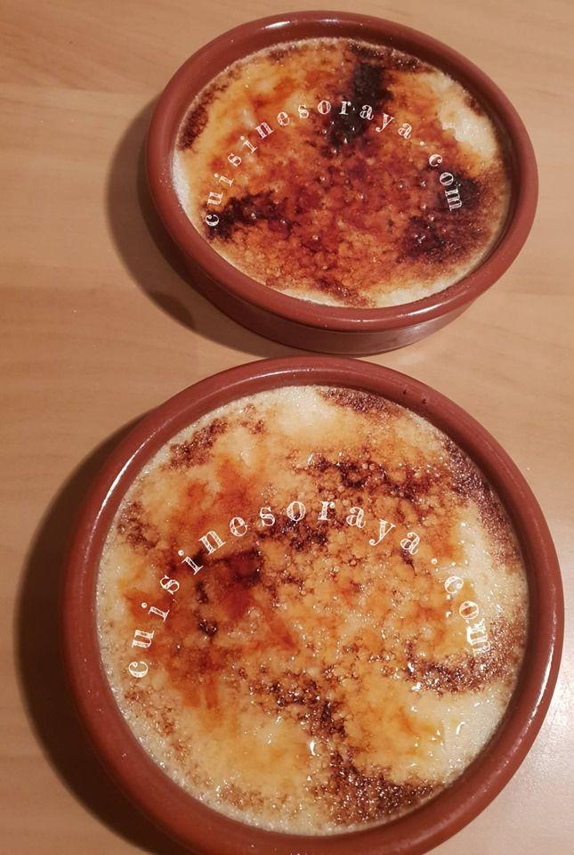 Crème brûlèe à la vanille