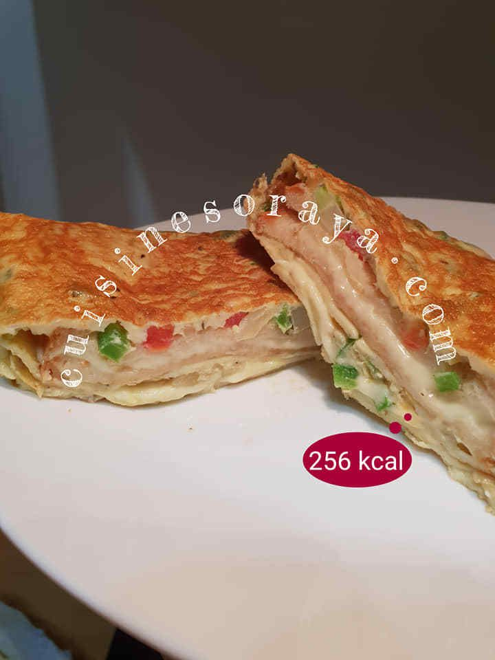 Croque omelette