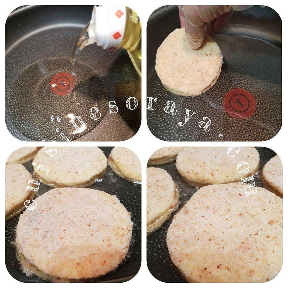 Croque panés au saumon fumé ou au poulet