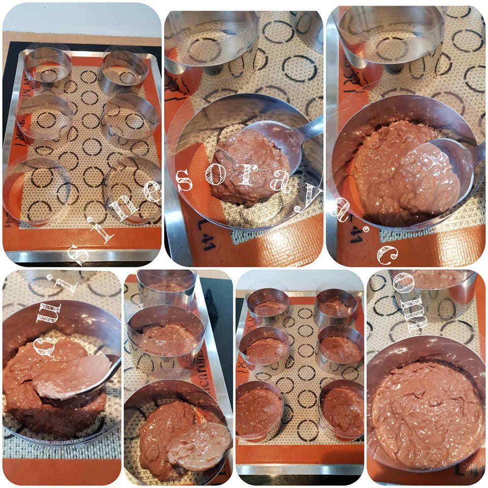 Gâteau 3 chocolats individuel