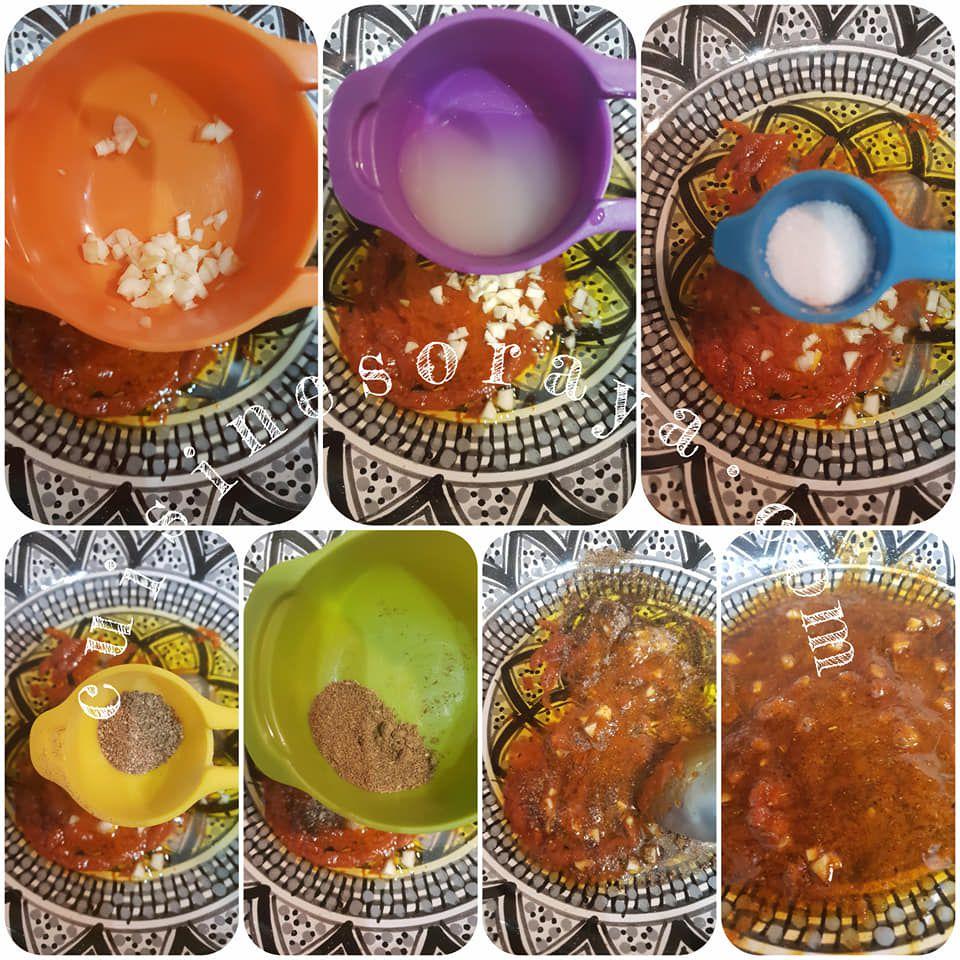 Salade de pomme de terre à la tunisienne