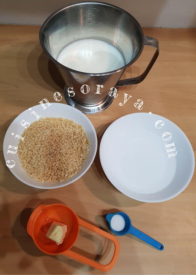 Petits plombs au lait - Aych au Lait - Mhamsa bel hlib