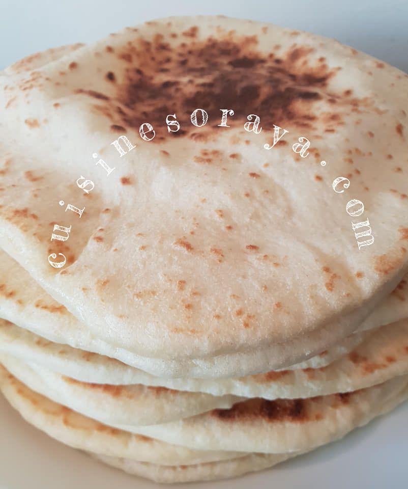 Bazlama - Pain Turc cuit à la poêle