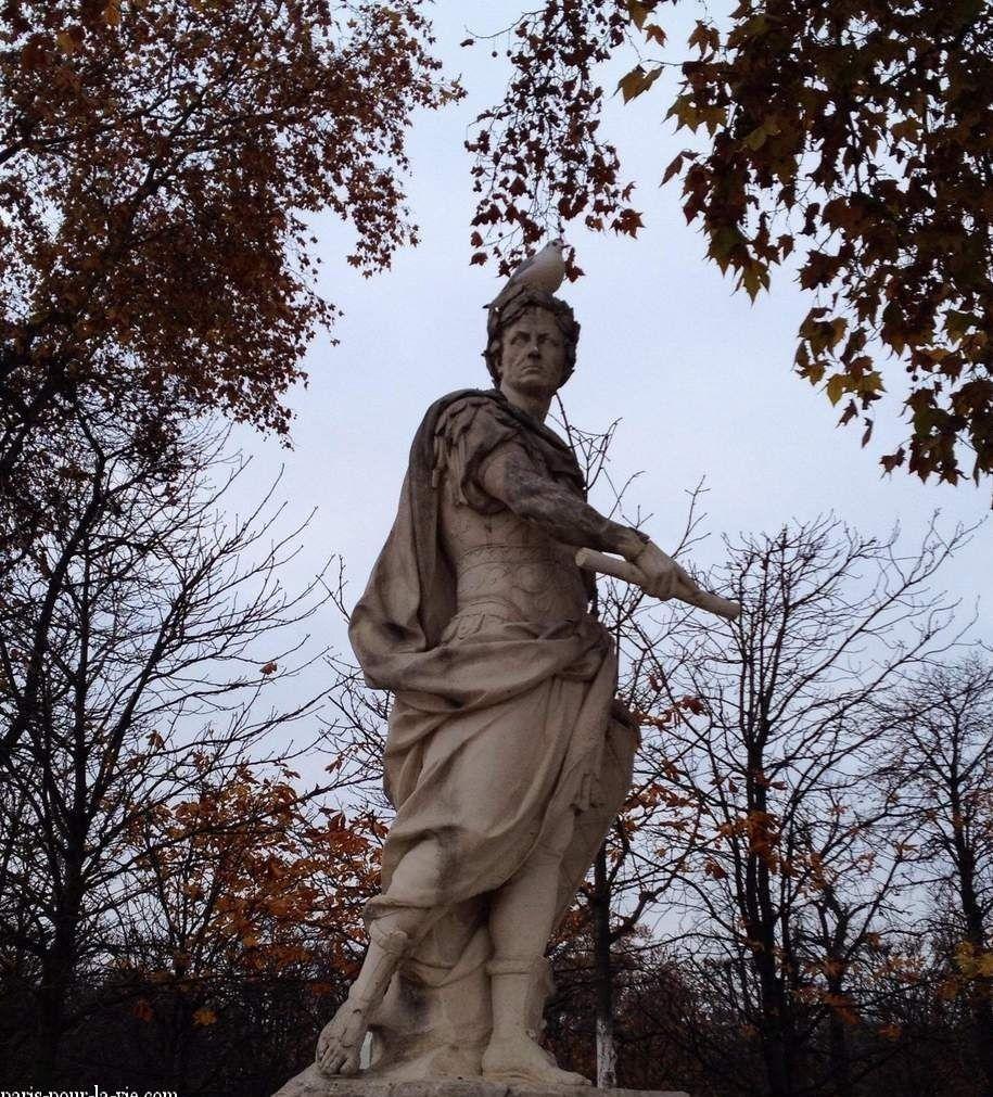 Le jardin des Tuileries en hiver - ONLAVU